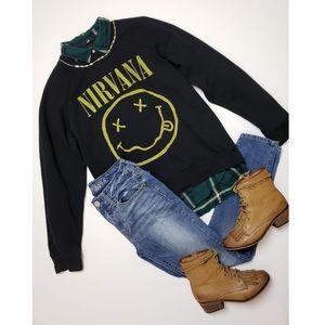 Nirvana Crewneck Sweater